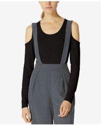 Avec Les Filles - Cold-shoulder Bodysuit - Lyst