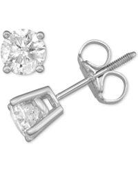 4de337c5944 Diamond Stud Earrings (3/4 Ct. T.w.) In 14 White Gold Or 14k Gold