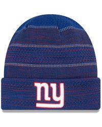 Lyst - Ktz New York Giants Trapskin Knit Hat in Red for Men 3c5572525