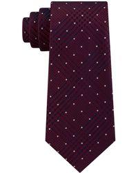 Michael Kors - Dotted Glen-check Silk Tie - Lyst