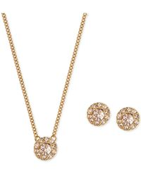 Givenchy | Silver-tone Necklace And Earring Set | Lyst