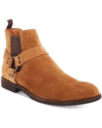 Frye - Men's Scott Chelsea Harness Boots - Lyst