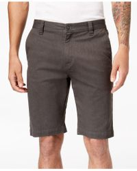 Volcom - Men's Stretch Shorts - Lyst