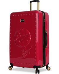 "Betsey Johnson - Lips 30"" Hardside Expandable Spinner Suitcase - Lyst"