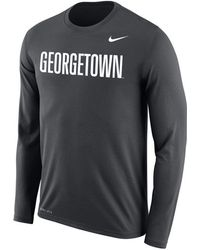 5fdb48a7 Nike 'legend 2.0' Long Sleeve Dri-fit Training T-shirt in Gray for ...