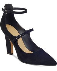 Marc Fisher - Kairi Two-strap Court Shoes - Lyst