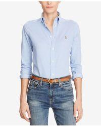 Polo Ralph Lauren | Long-sleeve Button-front Shirt | Lyst