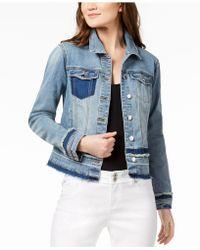 INC International Concepts - I.n.c. Frayed Denim Jacket, Created For Macy's - Lyst