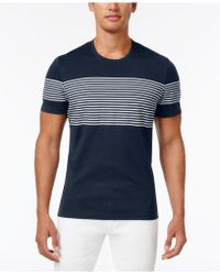 INC International Concepts - Introspection Striped T-shirt, Created For Macy's - Lyst