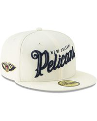 online store 50eb3 1e467 KTZ New Orleans Pelicans On-court Collection 9fifty Snapback Cap in Blue  for Men - Lyst