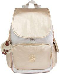 Kipling - City Pack Metallic Backpack - Lyst