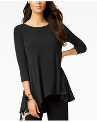 Alfani - Petite High-low Jersey Tunic Top - Lyst