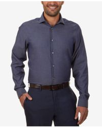 Calvin Klein - Steel Men's Slim-fit Non-iron Performance Solid Dress Shirt - Lyst