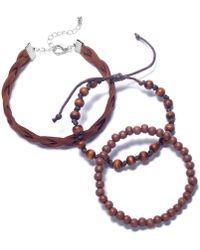 Rogue Accessories - Men's 3-pc. Greenville Bracelet Set - Lyst