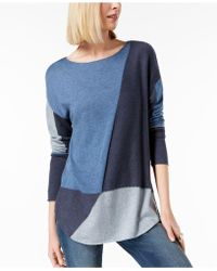 INC International Concepts - I.n.c. Petite Colorblocked Jumper, Created For Macy's - Lyst