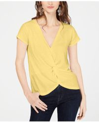 INC International Concepts - I.n.c. Twisted Top, Created For Macy's - Lyst