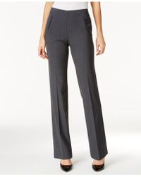Style & Co. - Tummy-control Pull-on Straight-leg Pants - Lyst