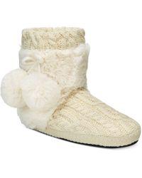 Muk Luks - Women's Coralee Boot Slippers - Lyst