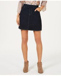Style & Co. - Frayed Pull-on Denim Skort, Created For Macy's - Lyst