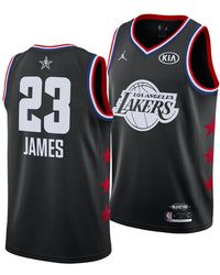 various colors 0ce90 2a88f Lyst - Nike Lebron James All-star Edition Swingman Jersey in ...