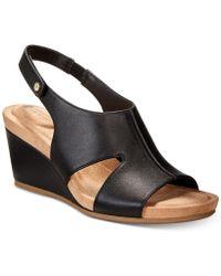 Giani Bernini - Caseyy Wedge Sandals - Lyst