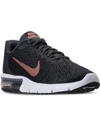 Nike - Women's Air Max Sequent 2 Running Sneakers From Finish Line - Lyst