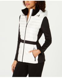 Calvin Klein - Performance Colorblocked Hooded Down Jacket - Lyst