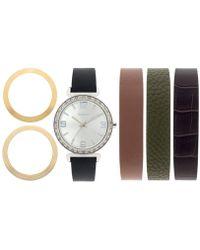 Style & Co. - Women's Interchangeable Strap Watch Set 36mm Sy015neu - Lyst