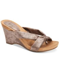 Style & Co. - Chickaa Wedge Sandals, Created For Macy's - Lyst