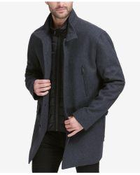 Cole Haan - Walking Coat With Bib - Lyst