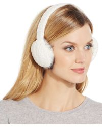 Charter Club - Chenille Earmuffs, Only At Macy's - Lyst