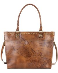 Patricia Nash - Map Navelli Tote - Lyst