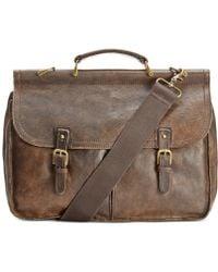 Patricia Nash - Men's Leather Dowel Briefcase - Lyst