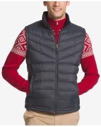 Izod - Men's Apex Quilted Full-zip Puffer Vest - Lyst