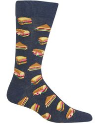 Hot Sox | Sandwiches Crew Socks | Lyst