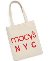 Macy's - World Largest Store Canvas Tote - Lyst