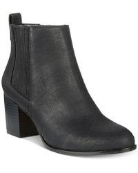 INC International Concepts - Women's Fainn Block-heel Booties - Lyst