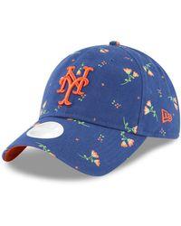 KTZ - New York Mets Blossom 9twenty Strapback Cap - Lyst