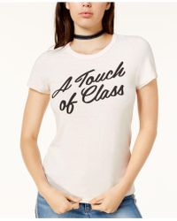 Junk Food - Touch Of Class Cotton Graphic T-shirt - Lyst