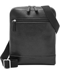 Fossil - Rory Leather Courier Bag - Lyst