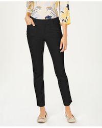 fbfc341e75 Charter Club - Petite Solid Newport Slim-leg Pants, Created For Macy's -  Lyst