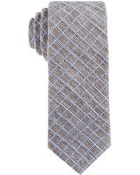 Con.struct - Con.struct Men's Grid Slim Tie - Lyst