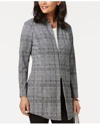 Alfani - Plaid Topper Jacket, Created For Macy's - Lyst