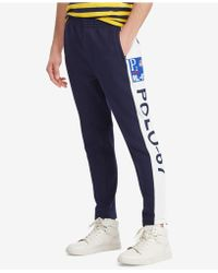 Polo Ralph Lauren - Double Knit Track Pants, Created For Macys - Lyst