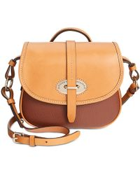 Lyst Dooney Bourke Verona Bionda Cristina Saddle Bag Crossbody