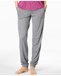 Alfani | Heather Striped Jogger Pajama Pants, Only At Macy's | Lyst