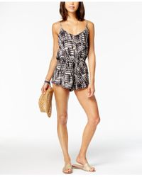 Dolce Vita - Ikat Romper Cover-up - Lyst