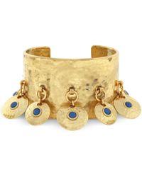 Vince Camuto - Gold-tone Multi-disc Cuff Bracelet - Lyst