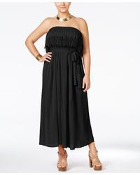 American Rag - Trendy Plus Size Flounced Maxi Dress, Only At Macy's - Lyst