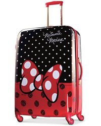 """Disney - Minnie Mouse Red Bow 28"""" Hardside Spinner Suitcase By American Tourister - Lyst"""